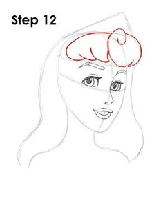 How to Draw Aurora/Briar Rose from Sleeping Beauty Disney Drawings Sketches, Disney Princess Drawings, Cute Drawings, Drawing Sketches, Cinderella Drawing, Tinkerbell, Aurora Disney, Estilo Disney, Briar Rose