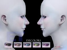 The Sims Resource: Eyecolor 41 by S-Club • Sims 4 Downloads