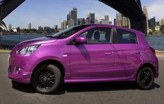 2014 Mitsubishi Mirage Purple – Automobile Magazine