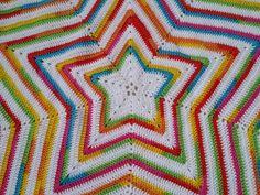 Star Blanket - Free pattern link on blog