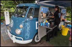 Resultado de imagen para kombi coffee van