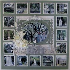 Bonaventure+Cemetery+Collage - Scrapbook.com
