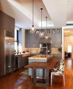 Cuisine Kitchen Décoration intérieur Interior design Home