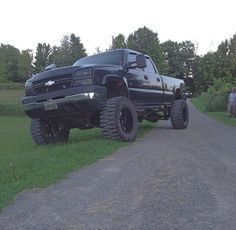 jacked up chevy trucks pictures Chevy Trucks For Sale, Chevy Trucks Older, Lifted Chevy Trucks, Chevrolet Trucks, Diesel Trucks, Ford Trucks, Pickup Trucks, Pink Chevy Trucks, Mudding Trucks