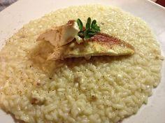 Un Carnaroli Superfino per un risotto con gallinella: un grande primo, cucinato da Roberto.