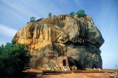 Fortaleza de Sigiriya. Sri Lanka. Sigiriya fortress.