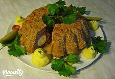 Fasírt kuglóf Iluskától | Nosalty Meatloaf, Pork, Beef, Google, Kale Stir Fry, Meat, Pork Chops, Steak