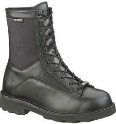 3135 Bates Men's DuraShocks Defender Uniform Boots - Black