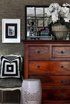 meble kolonialne indyjskie drewniane z palisandru komoda klasyczna