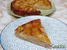 Tarta de manzana y yogur. Receta cremosa y deliciosa! Recipe Images, Sin Gluten, Baked Potato, French Toast, Pie, Pudding, Nutrition, Bread, Healthy
