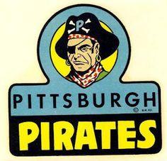 Vintage Pittsburgh Pirates logo