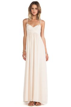 Amanda Uprichard Maxi Gown in Desert from REVOLVEclothing.com Bridesmaid  Dresses ad675f04a