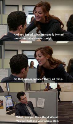 Schmidt! Love this show.