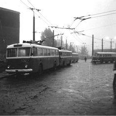 Komunikacja miejska w Lublinie w latach i Fot. Busses, Old Photos, Historia, Antique Cars, Old Pictures, Vintage Photos