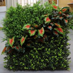 DIY Artificial Green Walls-Vertical Garden