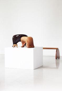 Furniture / Art by Aldo Bakker     Photo by Gallery Vivid