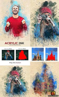 Acrylic Ink Art Photoshop Action Photoshop PAT, Photoshop ATNYou can use this action in photoshop CC, Photoshop Design, Photoshop Tutorial, Actions Photoshop, Cool Photoshop, Effects Photoshop, Photoshop Elements, Photoshop Website, Photoshop For Photographers, Photoshop Photography
