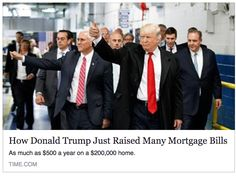 Jan 2017 - No First time homebuyers... Trump is NOT raising the cost of getting an FHA mortgage... The TRUTH about the suspension of FHA Mortgage Insurance Premium reduction, and why THIS HEADLINE is 100% bullcrap | by Jason Frazier - The Real Estate CIO