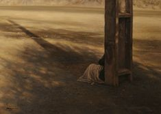 All alone - Oil on Canvas - 70x50
