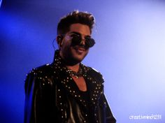 AdamLambert taking it all in at Madison Square Garden  This man is just incredible.