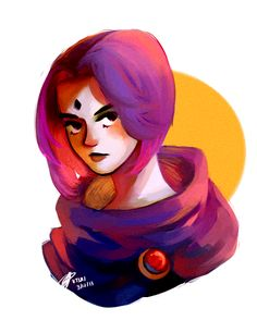 Throwback to childhood. Teen Titans was my favorite show growing up and Raven…