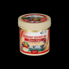 Tatranský bylinný gél – hrejivý 250 ml, Coconut Oil, Jar, Cosmetics, Food, Essen, Meals, Yemek, Jars, Eten