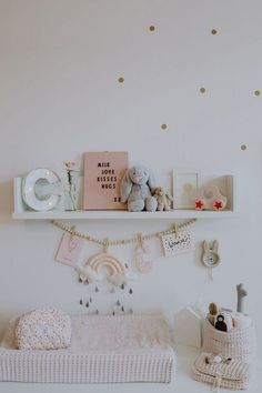 Need nursery style inpiration? Check out these perfectly styled nursery ideas and get ready to transform a space for baby! Whimsical Nursery, Woodland Nursery Decor, Nursery Wall Decor, Nursery Design, Baby Room Decor, Nursery Room, Girl Nursery, Nursery Ideas, Baby Bedroom
