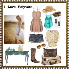 i love this carefree country girl style
