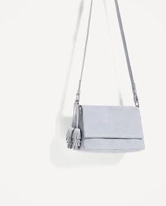 SPLIT SUEDE CROSSBODY BAG-Crossbody bags-BAGS-WOMAN | ZARA Hungary