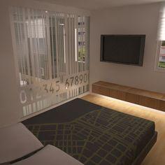 Remodelación de apartamento en Cumbres de Curumo - Cuarto Principal con baño integrado
