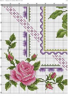 Cross Stitch Books, Cross Stitch Needles, Cross Stitch Borders, Cross Stitch Rose, Cross Stitch Flowers, Cross Stitch Charts, Cross Stitching, Cross Stitch Embroidery, Embroidery Patterns Free