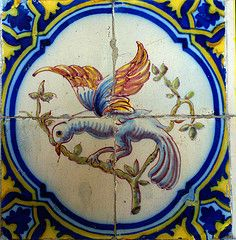 Azulejos, Lisbon-  where my obsession with birds began as a child.