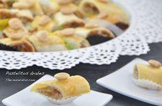 Os enseñamos a hacer unos originales pastelitos árabes, una masa rellena de almendra, miel y agua de azahar y todo ello bañado en almíbar. ¡Algo diferente!