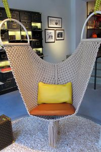 Funky Hammock chair!                                                                                                                                                      More