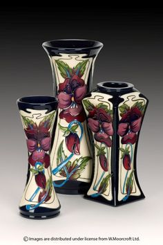Moorcroft - Pottery Glory and Dreams. I love the rectangular one!