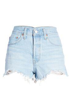 Levis 501 Original, Denim Shorts Style, Levi Shorts, Levis Jeans, Nordstrom, The Originals, Luxor, Summertime, Number