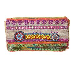 Another small shipment of  Kutchi clutches has arrived, this one's a real winner!!!!!  Gorgeous beaded detail, mirror work, zardozi (silver embroidery).  All clutches are one-of-a-kind made with vintage textiles from skilled artisans in Ind...