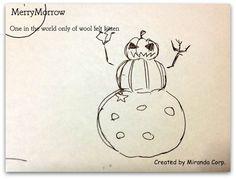 happy halloween 2016-2 羊毛フェルト 猫のアトリエ「メリーモロー」