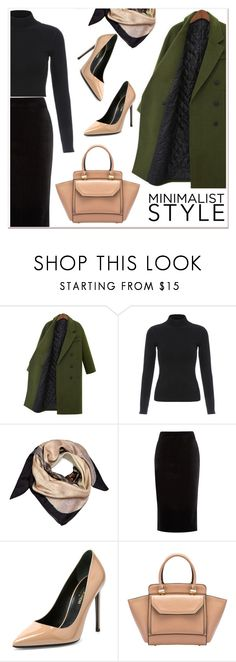 """Chic Minimalist Style 2"" by paculi ❤ liked on Polyvore featuring Alysia Thomas, Warehouse, Yves Saint Laurent and Minimaliststyle"