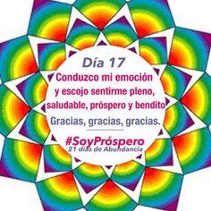 Dia 17 - #SoyPróspero: 21 Días de Abundancia.