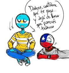 Read Chile y Argentina from the story Imagenes yaoi de CountryHumans by with reads. Argentina Country, Humans Meme, Mundo Comic, Happy Father, Hetalia, Iron Man, Smurfs, Wattpad, Anime