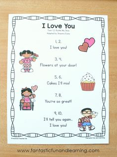 I Love You Preschool Valentine's Day Song - Fantastic Fun & Learning
