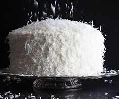 White Chocolate Coconut Cake by Fine Cooking