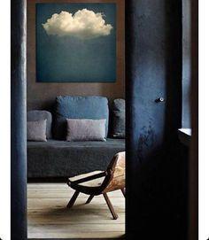 Adore this interior. Calm blue #interiors #instagood #inspiration