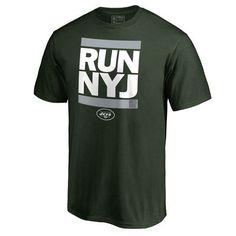 Men's Pro Line Green New York Jets RUN-CTY T-Shirt