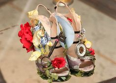 Alice In Wonderland shoes, just in case one of you guys wanted to walk around in these all day...