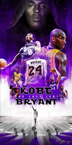 I thought this would be a good idea for Kobe Bryant's jersey retirement ceremony . Overall I'm pretty satisfied how this turn out for the most part. Kobe Bryant: The Last Jedi Kobe Bryant Family, Kobe Bryant 8, Lakers Kobe Bryant, Basketball Art, Basketball Pictures, Bryant Basketball, Basketball Players, Jordan Basketball, Kobe Bryant Michael Jordan