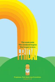 Gotta love Friday : Tropicana, DDB