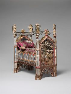 Crib of the Infant Jesus, 15th century. South Netherlandish. The Metropolitan Museum of Art, New York. Gift of Ruth Blumka, in memory of Leopold Blumka, 1974 (1974.121a-d)