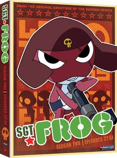 Sgt. Frog DVD Season 2 Collection (Hyb) #RightStuf2014